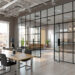 Chic Ideas for Glass Partition in Offices